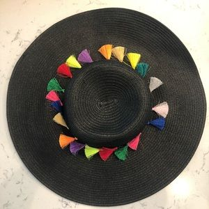 Tassel Beach Hat